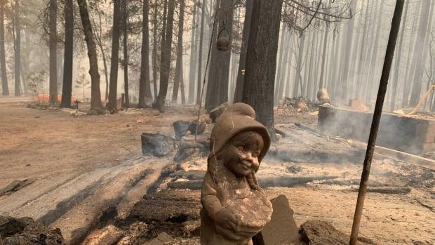 Wildfire, batı ABD alevlerle mücadele ederken binlerce California evini tehdit ediyor